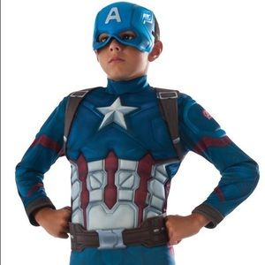 Kids Captain America Costume with Shield